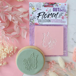 floral Butterfly Sweet Stamp