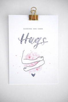 Big Hugs Karte by Tanja Wüst design