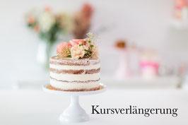 Kursverlängerung Naked Cake