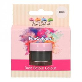 FunCakes Edible FunColours Sparkle Dust - Black
