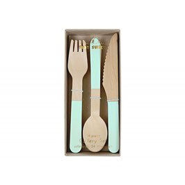 Cutlery Set mint Meri Meri