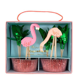 Cupcake Kit Flamingo Meri Meri