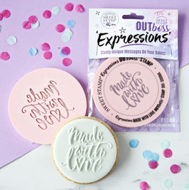 made with Love Outboss Sweet Stamp