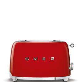 Smeg Toaster 50´s Style rot TSF01RDEU