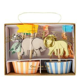 Cupcake Kit Zootiere Meri Meri