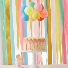 Caketopper Ballon Multi Colour Meri Meri