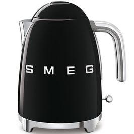 Smeg Wasserkocher 50´s Style schwarz KLF03BLEU