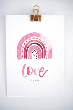 Love Karte by Tanja Wüst design