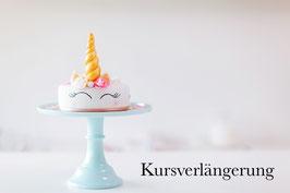 Kursverlängerung Fondant Torte Unicorn Kurs