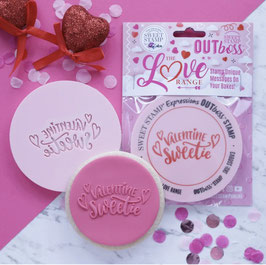 Valentine Sweetie Outboss Sweet Stamp
