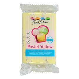 Fondant Pastell Gelb FunCakes 250g