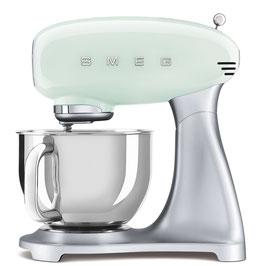 SMEG klassische Küchenmaschine Pastellmint SMF02PGEU