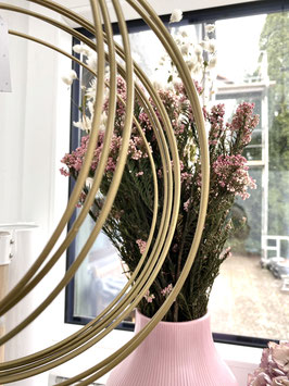Dekoring  dunkles Gold 25cm Trockenblumen