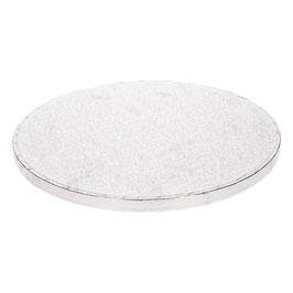 Tortenplatte Silber 25cm FunCakes