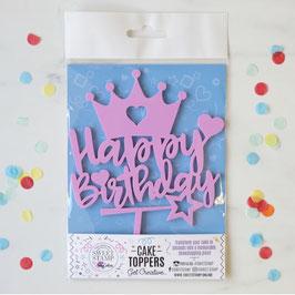 Happy Birthday Princess Caketopper by Amy Cakes