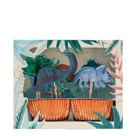 Cupcake Kit Dinosaurier Meri Meri