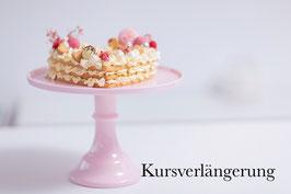 Kursverlängerung Number Cake Kurs