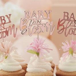 Cupcaketopper Baby in Bloom GingerRay
