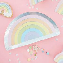 Rainbow Pastell Teller