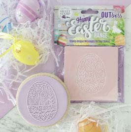 Osterei Blumen Outboss - Sweet Stamp