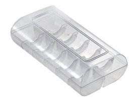 Macaron Schachtel groß 12er Box  Transparent Silikomart