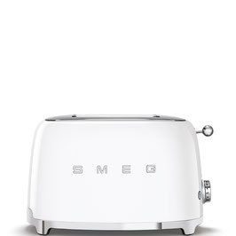 Smeg Toaster 50´s Style weiß TSF01WHEU