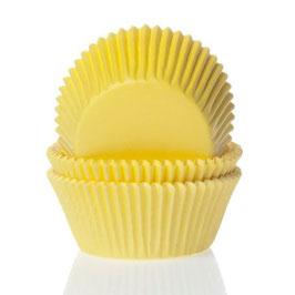 Cupcake Muffin Förmchen Mini Gelb