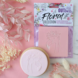 Floral FLamingo Sweet Stamp