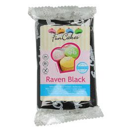 FunCakes Fondant -raven black 250g