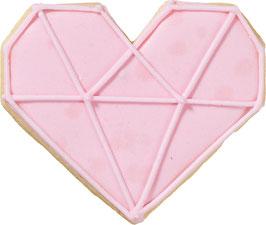 Keksaustecher Herz Diamant Birkmann