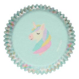 Cupcake Förmchen Einhorn