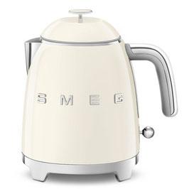 Smeg Mini Wasserkocher 50´s Style Creme KLF05CREU