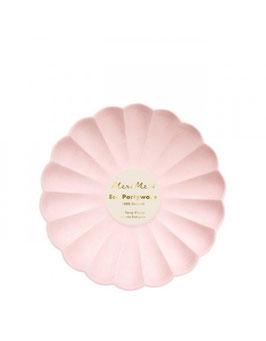 Simply Eco Teller klein rosa Meri Meri