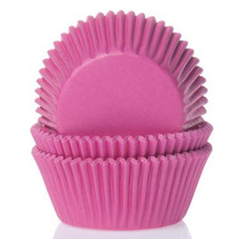 Magenta Mini Cupcake Förmchen House of Marie
