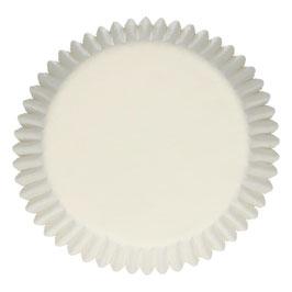 Cupcake Muffin Cups Weiß uni FunCakes