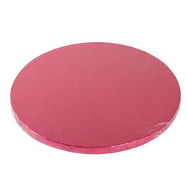 Tortenplatte rot Pink - Cerise