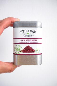 Fruchtpulver Heidelbeere Spicebar