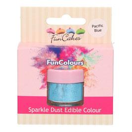 FunCakes Edible FunColours Sparkle Dust - Pacific Blue