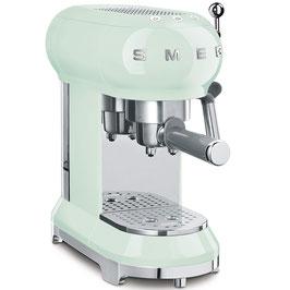 SMEG Espressomaschine 50´Style Pastellgrün ECF01PGEU
