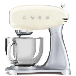 SMEG klassische Küchenmaschine Creme SMF02CREU