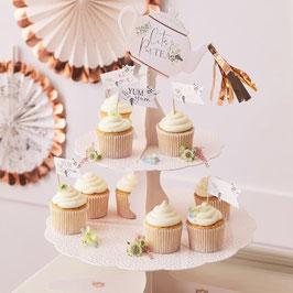 Cupcakeständer Pappe tortenständer