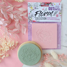 floral Pretty Pony Sweet Stamp