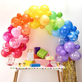 Ballon Girlande  - Rainbow