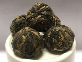 Teeblume mit schwarzem Tee | Black Rose