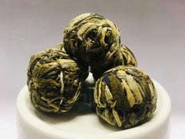 Teeblume mit weißem und grünem Tee | ROSE & JASMIN 茶葉
