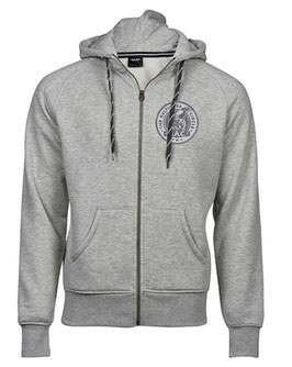 NEU: Zip Hoodie - Baltic Sea Circle - LIGHT GREY