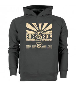 DUTCH EDITION - Hoodie SUN UP - Baltic Sea Circle 2019