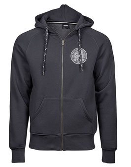 NEU: Zip Hoodie - Baltic Sea Circle - DARK GREY