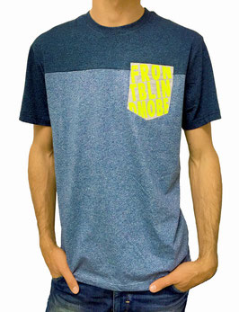 Colorblocking T-Shirt Meliert Trick