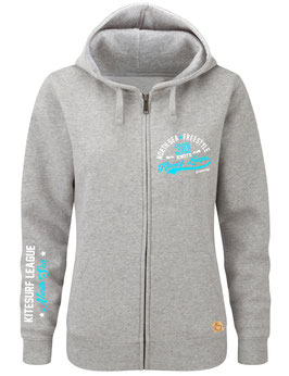 Zip-Hoodie Kitesurf League NORDSEE Brustprint
